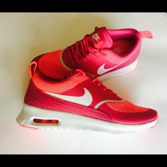 6553114de3dae Nike Shoes | Nwt Air Max Thea Pink White Womens Sz 55 | Poshmark